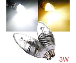 Dimbare LED Gloeilamp E12 3W AC 220V
