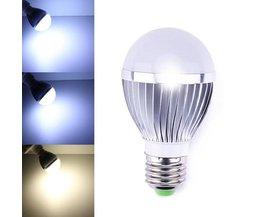 Dimbare 5W LED Lamp In de Kleur Wit of Warm Wit