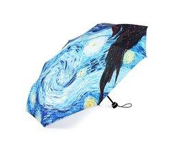 Paraplu's met Van Gogh Design