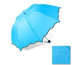 Compacte Paraplu in Vrolijke Kleuren