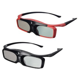 Actieve 3D Bril Geschikt voor Meerdere DLP Projectors