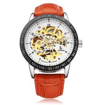 Mechanische Horloges (PU Leer)