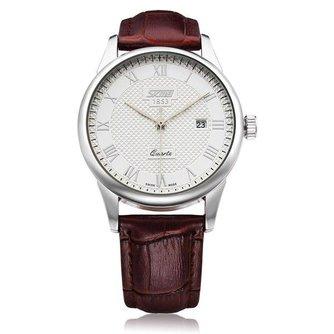 SKMEI Quartz Horloge met Romeinse Cijfers voor Heren