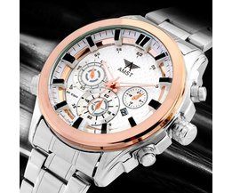 Sportief Casual Roestvrijstalen Horloge AMST AM3007