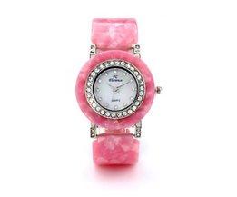 AMST 2388 Dames Horloge met Kristal