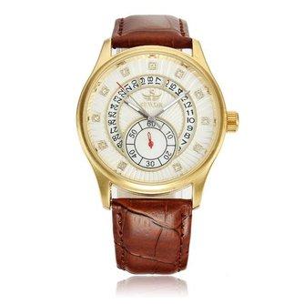 Casual Mechanisch Horloge met Leren Bandje