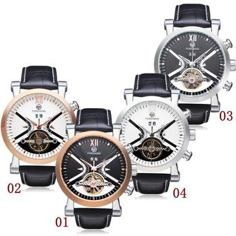 Forsining Flywheel 3 Horloge Voor Mannen