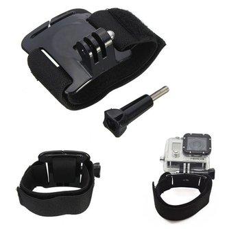 Armband voor GoPro 2 3 3 Plus en 4