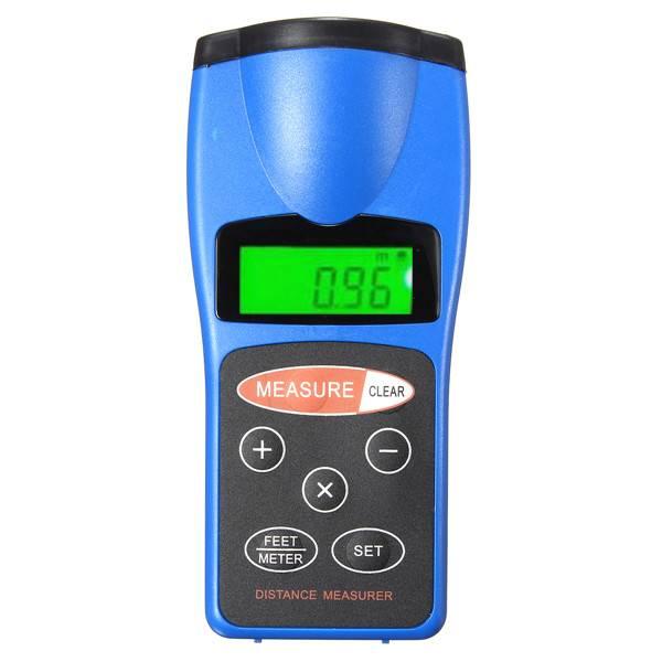 Digitale Afstandsmeter met Ultrasone Laser