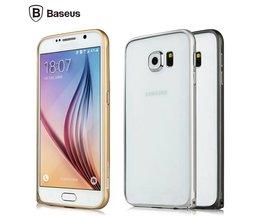 Metalen Zilveren Frame voor Samsung Galaxy S6