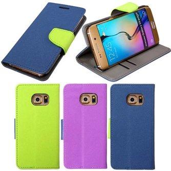 Beschermhoesje van PU Leer voor de Samsung Galaxy S6 Edge