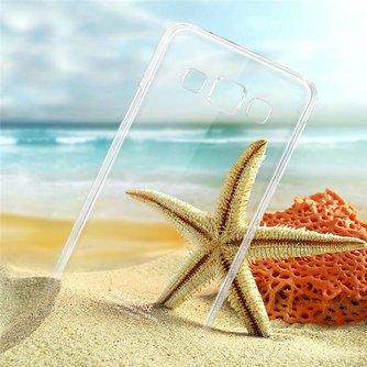 IMAK Doorzichtig Hoesje Voor Samsung Galaxy E5 E500H