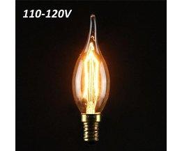 Lamp met Gloeidraad (E14)