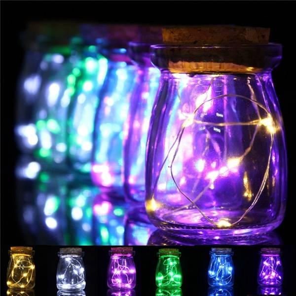 Deze lichtgevende vaas zorgt voor een romantische sfeer in huis.