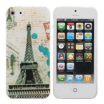 IPhone 5 Hardcase met Eiffeltoren Print