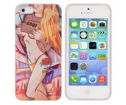 IPhone 5S Backcover met Sexy Meisje