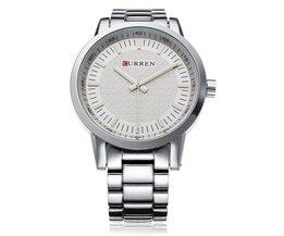 Curren 8131 Quartz Horloge Heren met Grote Wijzerplaat