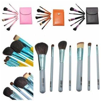 Maange Make-upbrushes in Etui (7 Stuks)