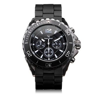 V6 V0202 Super Speed Sportief Herenhorloge Groot Formaat