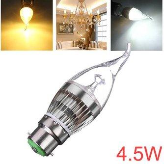 B22 Dimbare LED Kaarslamp