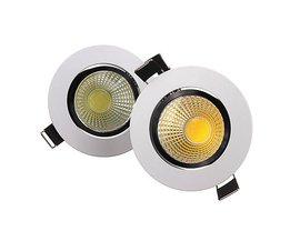 6W LED Spot Dimbaar voor Plafond