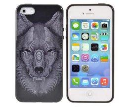 Hoes Met Wolf Voor De iPhone 5 & 5S