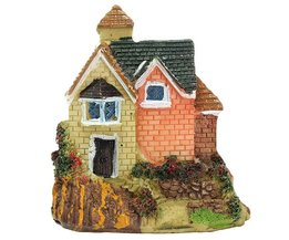 Klein Miniatuur Huisje Voor De Tuin