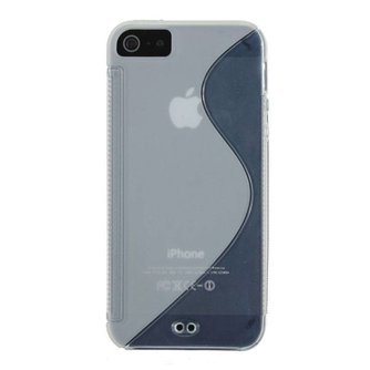 S-Line Gel Case Voor iPhone 5 & 5S
