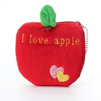 Leuke Portemonnee van Zacht Pluche en Flanel in de vorm van Fruit