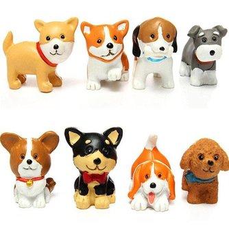 Decoratieve Miniatuur Honden