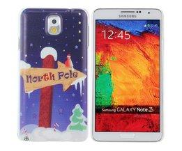 Kerst Hoesje Voor Samsung Galaxy Note 3