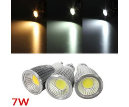 GU10 7W Dimbare COB LED Spot