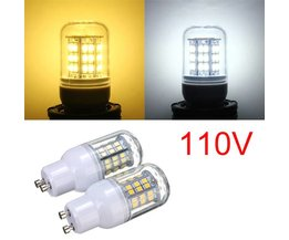 GU10 3W Warm Wit/Wit 48 LED 2835 SMD 110V