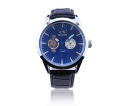 SEWOR Skeleton Horloge Voor Heren