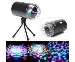 LED RGB Discolamp