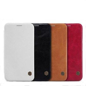 Flip Case Leer voor Samsung Galaxy E5 E500