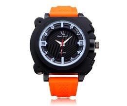 V6 V0191 Super Speed Horloge voor Mannen met Grote Horlogekast