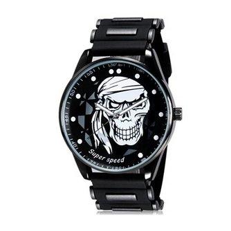 V6 Super Speed Horloge Met Schedel