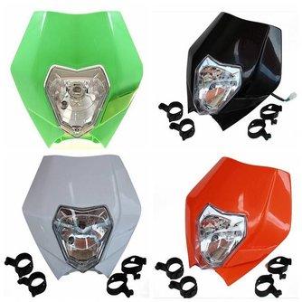 Koplamp Kap met Lamp voor Kuip van Dirtbike