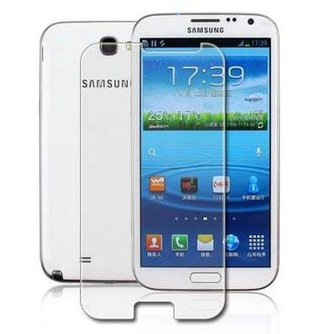 Screenprotector Voor Samsung Galaxy Note 2