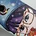 Beschermhoesje met Kleurrijke Illustratie voor de Samsung Galaxy S4 i9500