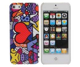 Hoesje Met Groot Hart Voor iPhone 5