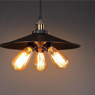 E27 Retro Pafondlamp