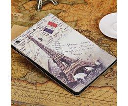 Eiffeltoren Hoes Voor de iPad Air