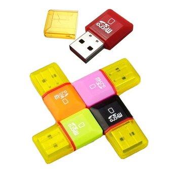 USB 2.0 Micro SD-Kaartlezer