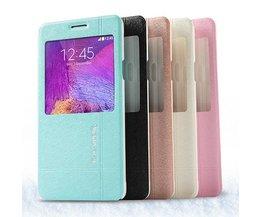 Lederen Case voor Samsung Galaxy Note 4