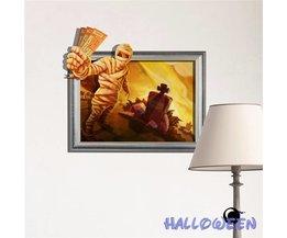 Wand Sticker 3D Halloween