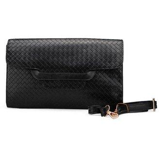 Zwarte Handtassen Gevlochten