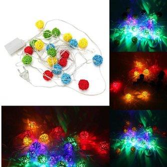 Gekleurde Lichtslinger met LEDs (4M)