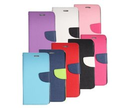 Magnetische Flip Case voor Samsung Galaxy Note 4